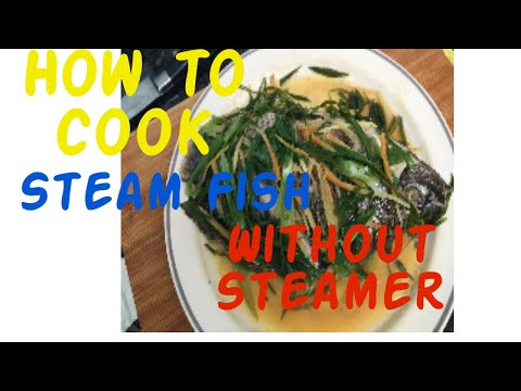 How To Cook Steam Fish Without Steamer..#7 MINUTES, USING MICROWAVE