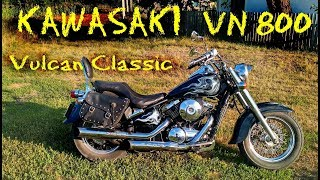 Тест-драйв   Kawasaki VN 800 Vulcan Classic