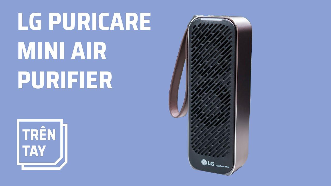 Trên tay máy lọc không khí LG PuriCare Mini - YouTube