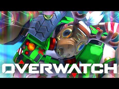 Overwatch Holiday Mystery Brawl! (Random Heroes, Lots of Fun!)