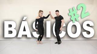 2. Pasos básicos de BACHATA #2 | Cómo bailar bachata | Aprende a bailar con Alfonso y Mónica