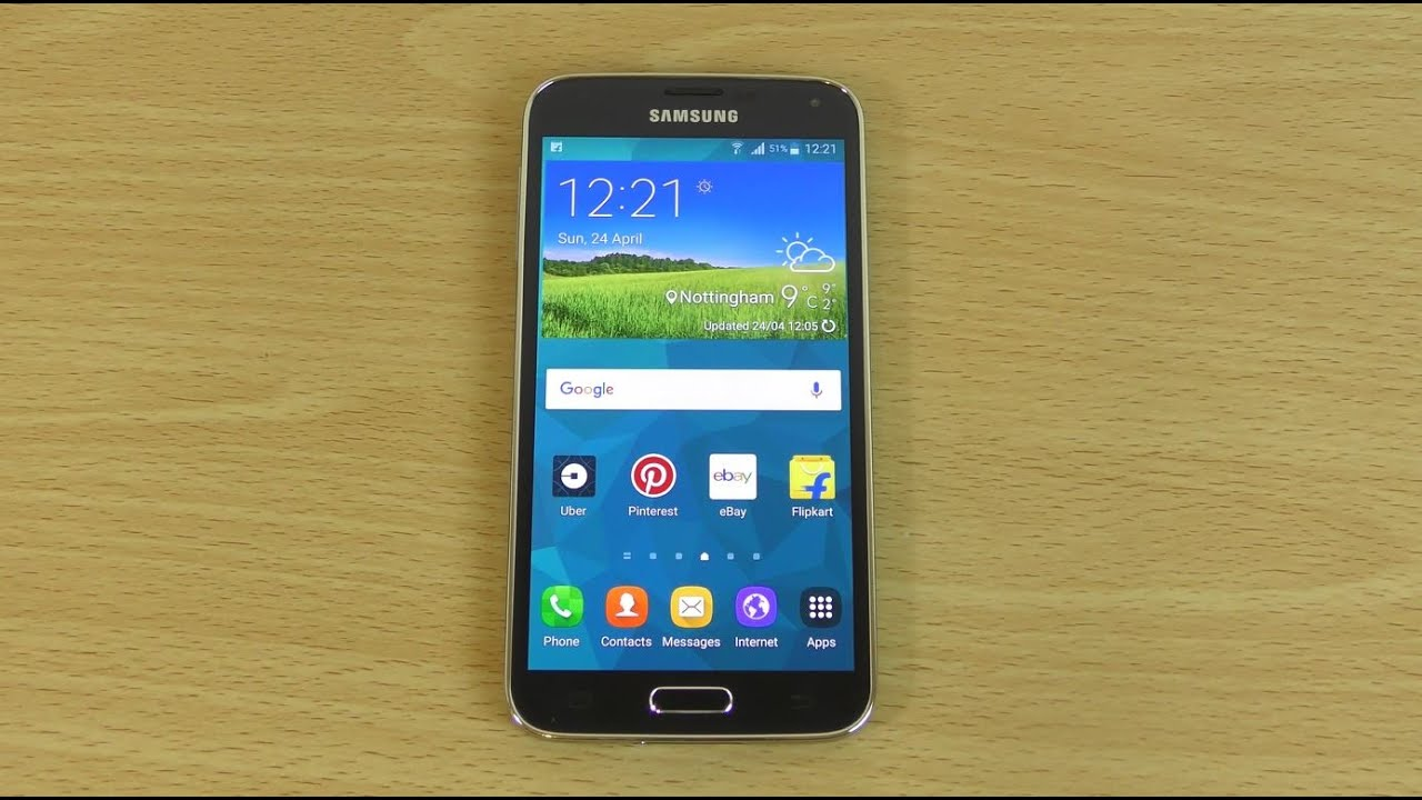 Android 6.0 1 Galaxy S5