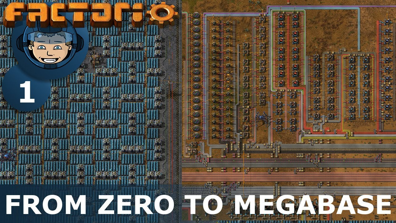 Download FROM ZERO TO MEGABASE - Factorio: Part 1 - Beating The Game