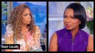 Condoleezza Rice Clashes With 'The View' Host Over Jan. 6 Riots