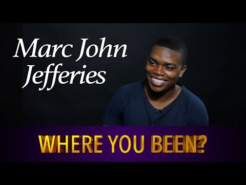 Marc John Jefferies Talks Transitioning Into An Adult Actor   Where You Been?