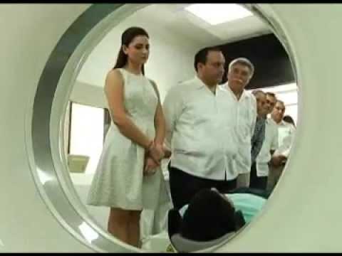 01DIC15 INAUGURA EL GOBERNADOR EL TOMÓGRAFO DEL HOSPITAL GENERAL