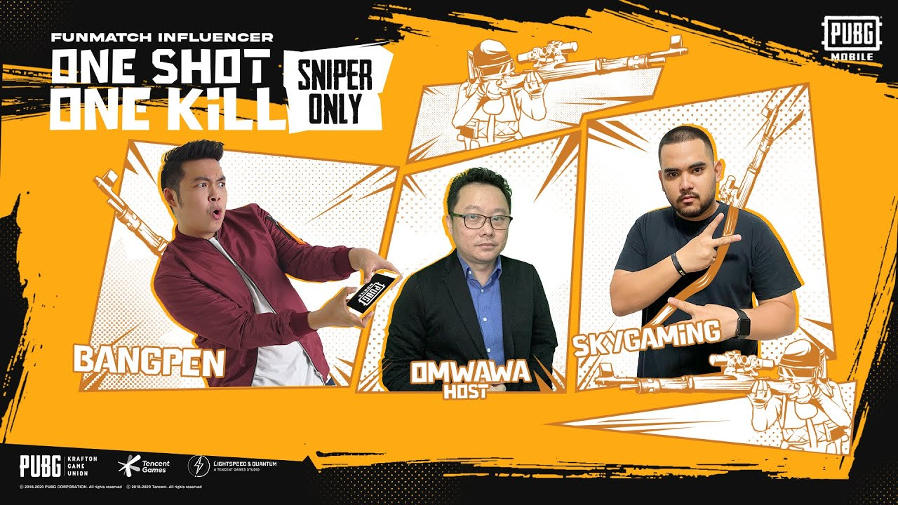 ONE SHOOT ONE KILL : SNIPER ONLY antara BangPen VS SkyGaming | PUBG MOBILE INDONESIA FUNMATCH 2020