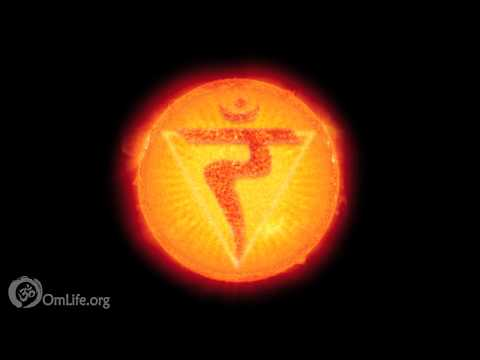 Real Sun Energy Meditation Yoga | Didgeridoo OM Binaural Beat | Solar Plexus Chakra 126HZ