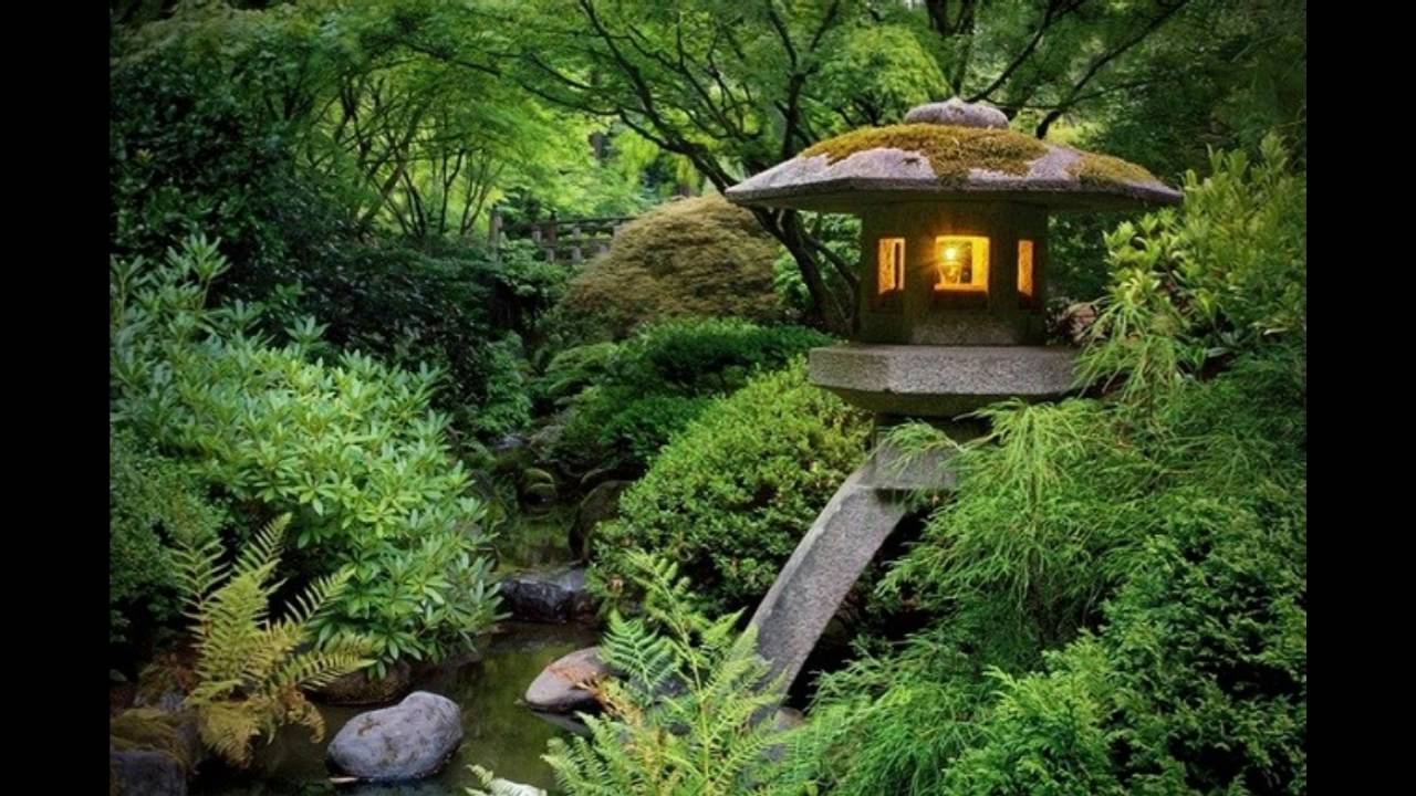 decoracion de jardines zen para meditar youtube