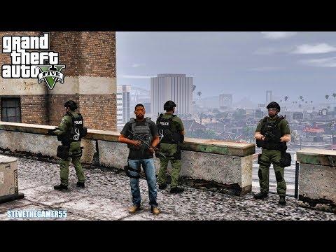 GTA 5 MODS LSPDFR 1070 - GANG UNIT LOCKDOWN!!! (GTA 5 REAL LIFE PC MOD)