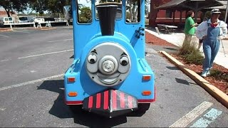 The Stupid Orange In Catching Thomas The Train