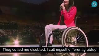 Motivational Speech by a handicapped women