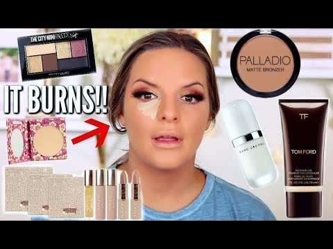 FULL FACE OF FIRST IMPRESSIONS! Drugstore & Highend | Casey Holmes