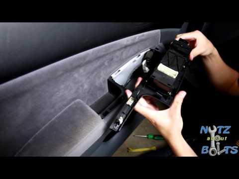 2003-2007 Honda Accord Master power window switch replacement