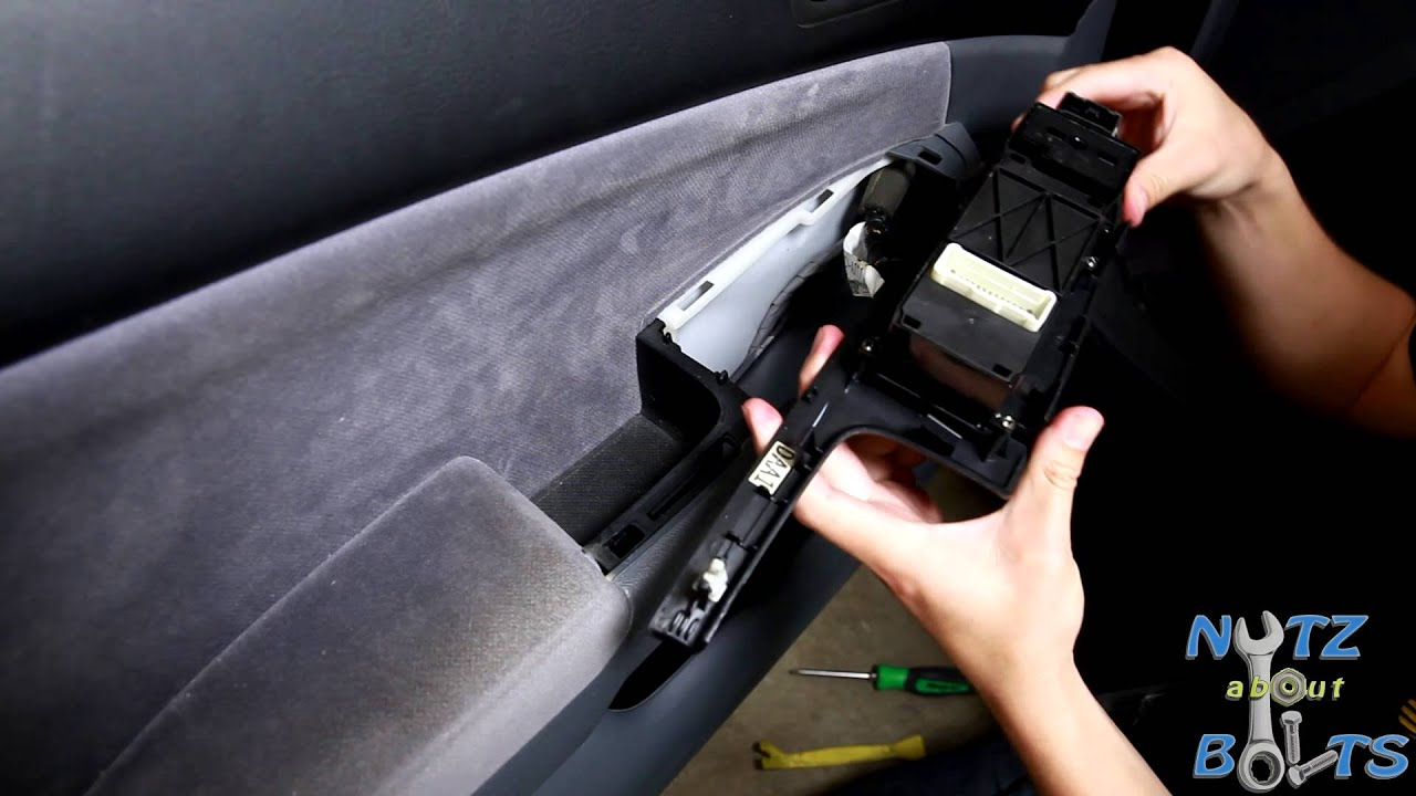 hight resolution of 2003 2007 honda accord master power window switch replacement