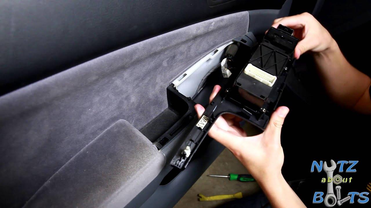 medium resolution of 2003 2007 honda accord master power window switch replacement