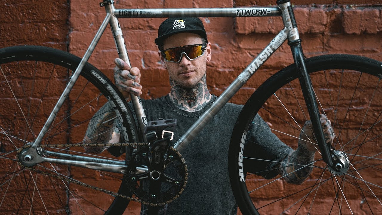 Download Fixed Gear Bike Check - Robert Gaines' MASH Steel Build