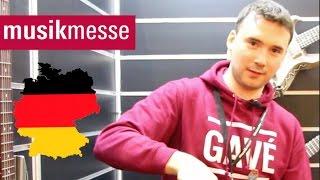 Артём Майер на MusikMesse 2017 Музыкальная выставка во Франкфурте part 2