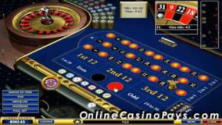Http://www.onlinecasinopays.com/ watch how to make easy money playing at online casinos with roulette system. this system works and it's 100% free! http...