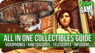 Bioshock Infinite Collectibles Infusions Voxophones Sightseer Kinet...