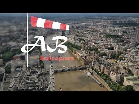 London Heliroutes - Thames pilot instruction video guide H9,10,4