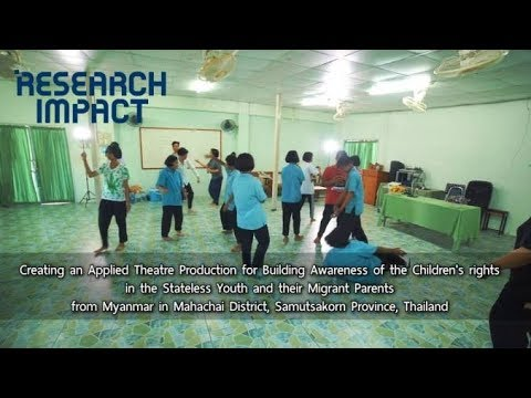 Creating an Applied Theatre Production for Building Awareness of the Children's Rights