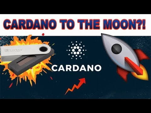 CARDANO (ADA) TO $1? - BEING ADDED TO LEDGER NANO S!