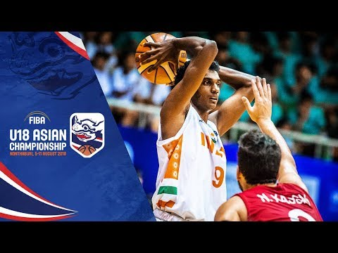 India v Syria – Full Game – FIBA U18 Asian Championship 2018