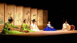Concert de musique traditionnelle coréenne au MNAAG - Gutpungnyu Sinawi