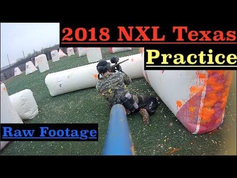 NXL Texas Open 2018 Practice - Raw Footage