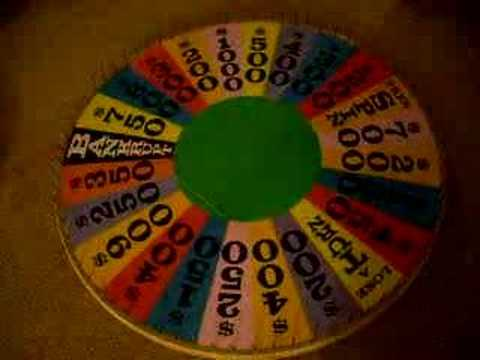 make wheel of fortune
