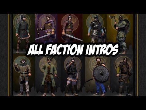 Total War: Attila - All Faction Intro Videos