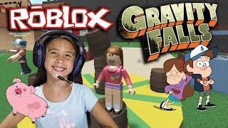 Roblox GRAVITY FALLS - jeux avec JILLIAN!