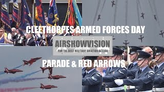 CLEETHORPES AFD PARADE 2016 Feat. THE RED ARROWS (airshowvision)