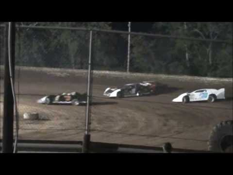 Late Model Heat #1 From Ohio Valley Speedway, 9/7/13.