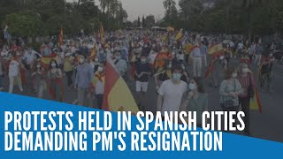 Protests held in Spanish cities demanding PM's resignation