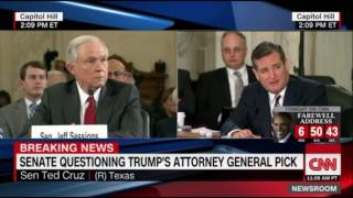 Sen. Ted Cruz Destroys The Democrats Biased Against Sen. Jeff Sessions