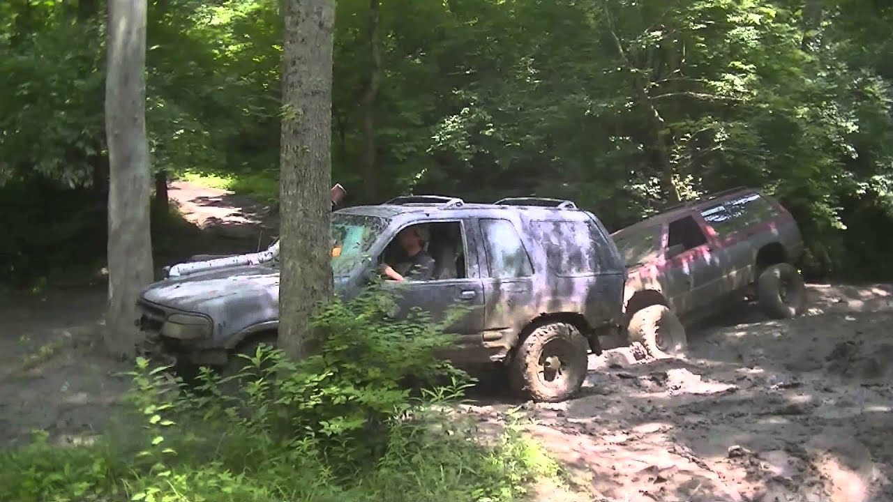 Gmc Jimmy Ford Explorer And Suzuki Samurai Off Road Youtube Four Doors
