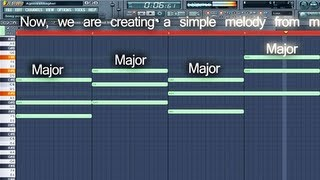 Basic Chords and Melody Creation in FL Studio - Music Tutorial by Ragasur