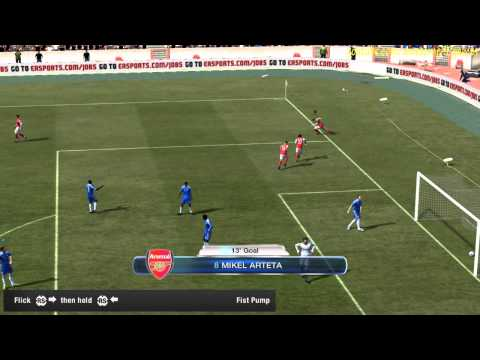 FIFA 12 All 20 Running Celebrations Tutorial HD