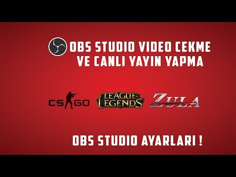 Obs Studio Ayarları,Canlı Yayın Yapma,Oyun Videosu Çekme! 2019