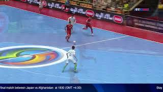 3rd/4th Place - Islamic Republic of Iran vs Indonesia  - AFC U-20 Futsal Championship - IR Iran 2019