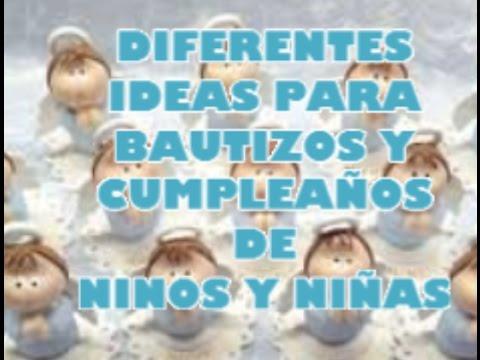 Diferentes ideas para bautizos y cumplea os de ni os y - Ideas para cumpleanos de nina ...