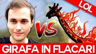 MAX VS GIRAFA IN FLACARI! Rock of Ages 2