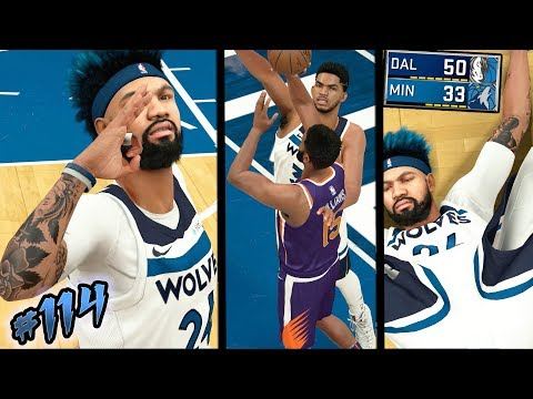 NBA 2k18 MyCAREER S2 - Karl Anthony Towns is a SAVAGE vs Suns! Perfect 82-0 Record at Risk! Ep. 114