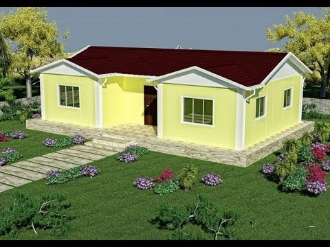 light stel prefabricated cement house installation video1