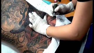 Repeat youtube video DRAGON FULL BACK COVER UP