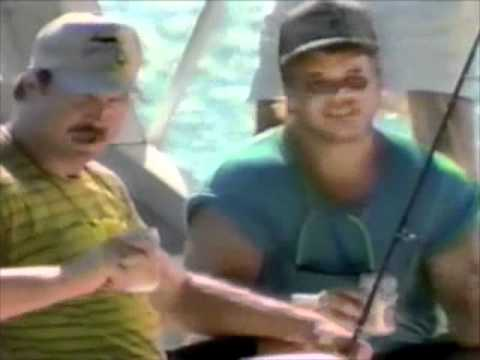 Lite Beer from Miller commercial (Fishing with White and Klecko) - 1990