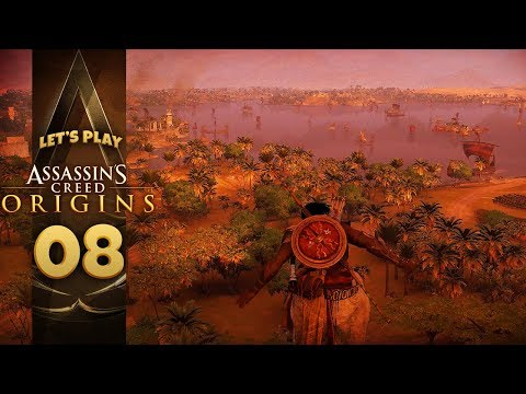 VIEW OF THE CITY | Assassin's Creed: Origins (Let's Play Part 8)