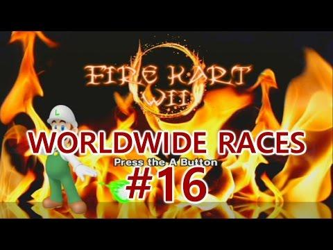 [MKWii] Worldwide Races #16: Fire Kart Wii